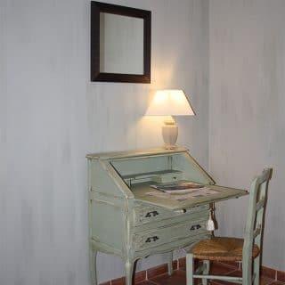 Bureau chambre d'hôtes pivoine